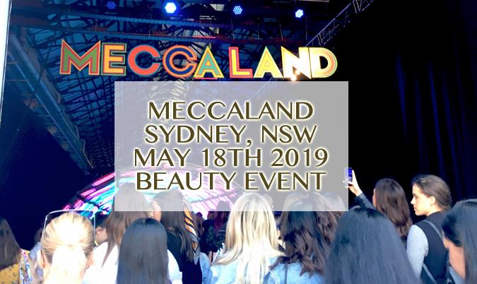 Meccaland 2019: Sydney, Australia