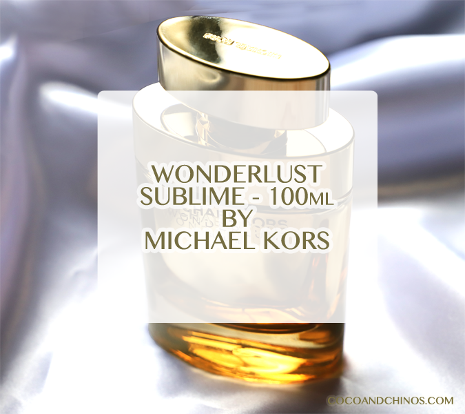 Michael Kors Wonderlust Sublime 100ml – October 2019
