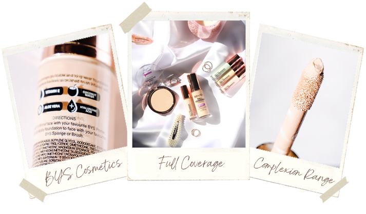 BYS Cosmetics: Full Coverage Complexion Range – November 2020